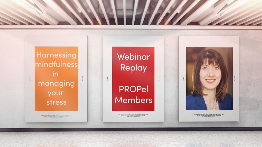 Webinar: harnessing mindfulness in managing your stress