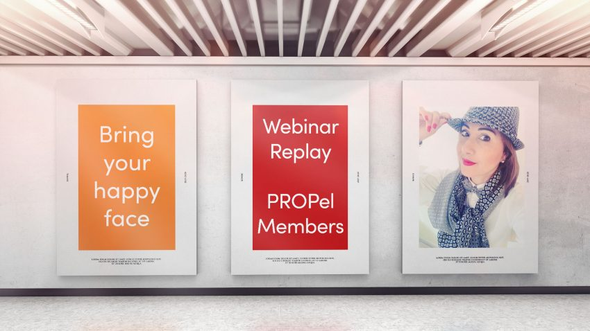 Webinar: 27th October 2020 Bring your happy face - how to be more confident on video and video conferences
