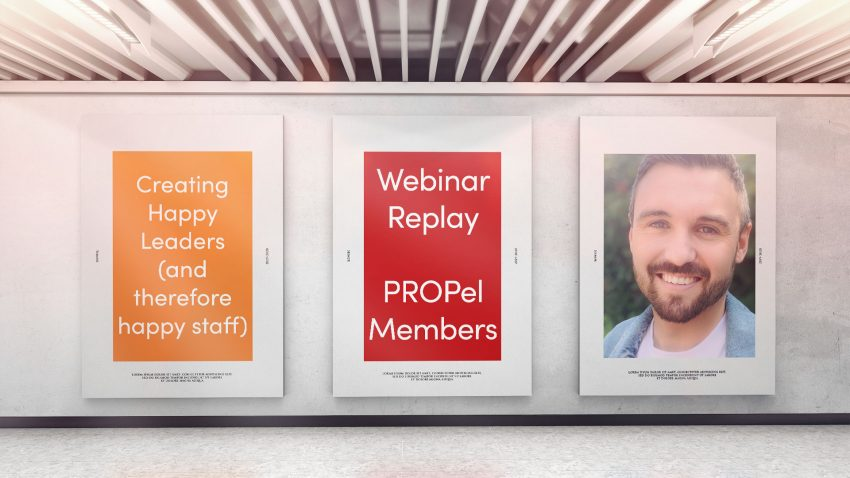 Webinar: 2nd February 2021 - Creating happy leaders with Nick Rich