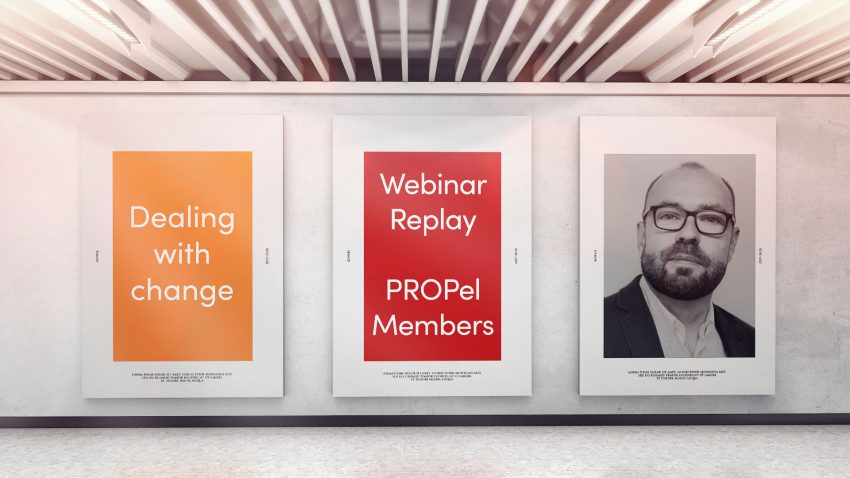 Webinar: 9th February 2021 - Dealing with change with Colin Stokes from Adiuvo