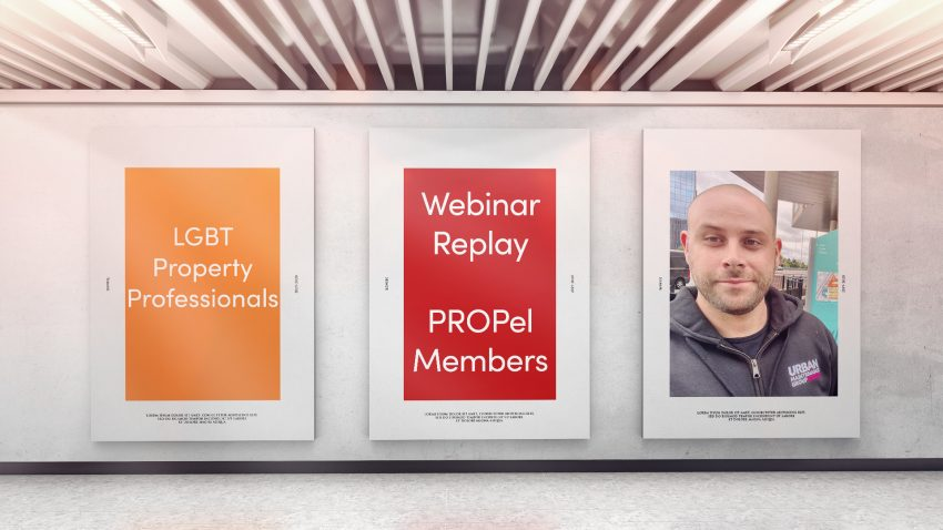 Webinar: 23rd February 2021 - LGBT Property Professionals with Nathan Yates