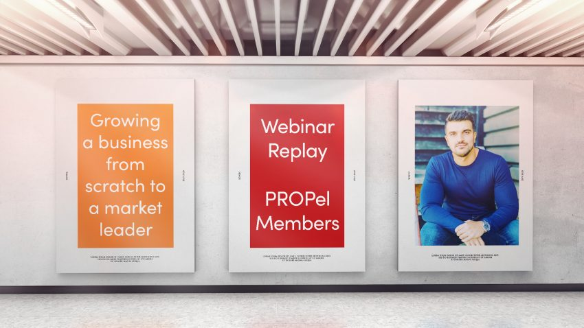 Webinar: 16th February 2021 - Growing a business from scratch to a market leader with Colin Horton