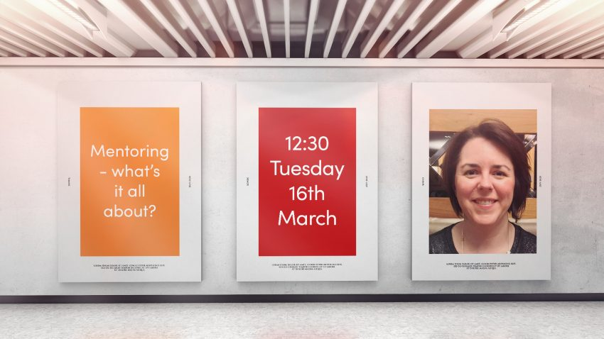 Webinar: 16th March 2021 - Mentoring - what's it all about? With Laura Fordyce, CIH
