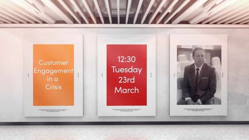 Webinar: 23rd March 2021 - Customer Engagement in a crisis with Michael Hill