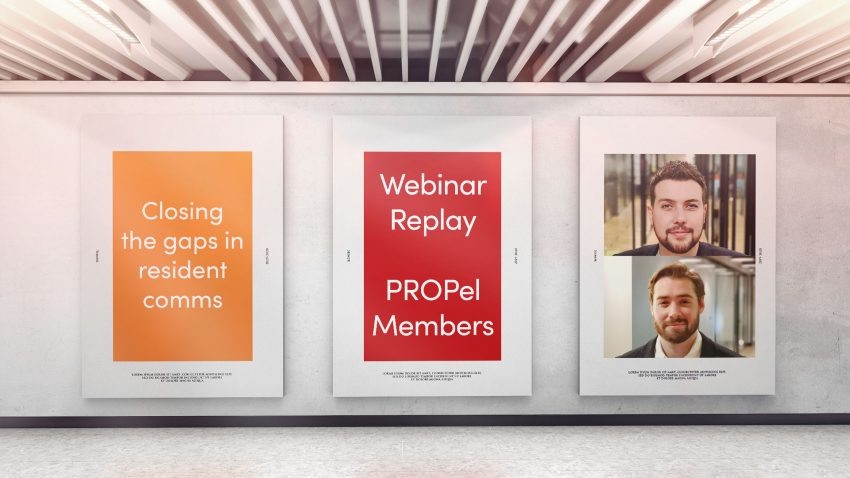 Webinar Replay: Closing the gap on resident communication with Christopher Bevan and Samuel Allen.